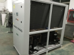 air cooled scroll chiller 36kw air cooled water chiller in calendering