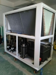 air cooled scroll chiller 76KW air chillers for injection moulding machines