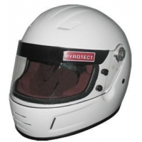 Pyrotect Pro Airflow Youth Automotive SFI 24.1 Helmet White - Closeout