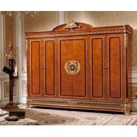 China Luxury Italian Antique Furniture E62 six door wardrobe on sale