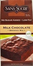 China Sans Sucre, No Sugar Added, Milk Chocolate Brownie Mix, 8 oz, with Stevia, Kosher, cRc-d on sale