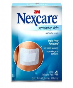 China Skin Care Nexcare Sensitive Skin Adhesive Pads on sale