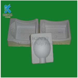 China New Top grade molded pulp eco friendly soap packaging box on sale