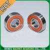 China 6001 2RS Bearings Red rubber sealed for sale