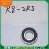 China Inch R Series Bearing R8-2RS for sale