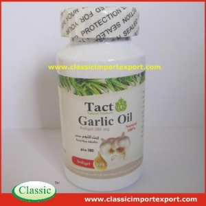 China Garlic Oil Soft Capsule Private Label on sale