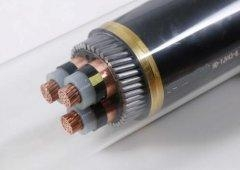 China 3 Core Copper Conductor XLPE Insulated Power Cable on sale