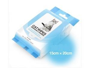 China Cat Pet care Cleaning Wet Wipes 100pcs on sale