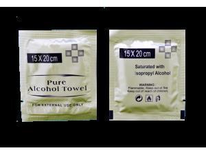 China Multi Purpose Use 70 Alcohol Wipes on sale