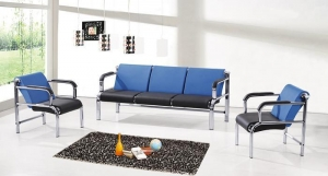China Modern colorful PU leather office sofa set design office sofa HX-311G on sale