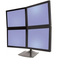 China Ergotron Desk Stand 100 Quad Monitor Stand on sale