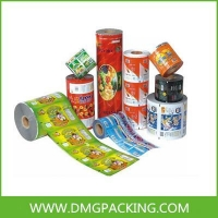 Roll film for pet food packaging