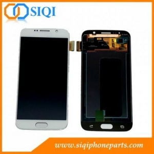 China White Color For Samsung Galaxy S6 LCD Screen Repair From China on sale