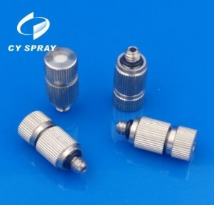 China FM series stainless steel mist irrigation nozzle with SS core or ceramice core on sale