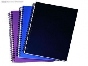 China Custom Cheap Bulk Spiral Color Printed Hardcover Notebook on sale