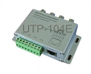 China 4CH Passive CCTV Video Balun | UTP-104E on sale