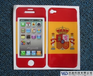 China 3M Controltac gel skin for iphone5 maker on sale