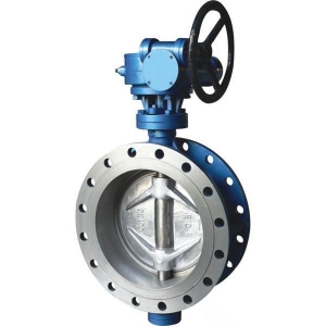 China metal seated butterfly valves Flange Hard Seal Butterfly Valve on sale