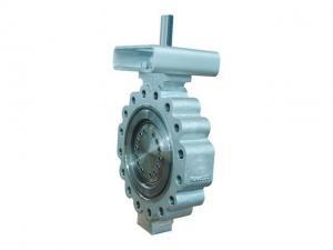 China triple offset butterfly valve Offset Butterfly Valve on sale