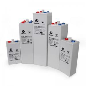 China Nickel cadmium batteries OPzV gel batteries 2V on sale