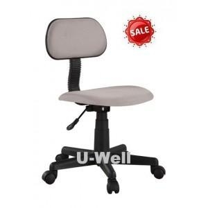 China Hot Grey fabric Computer swivel chair with nylon base F001 on sale
