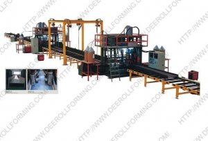 China H-beam welding line on sale