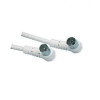 Coaxial TV Aerial Cable Male To 90 Degree Female