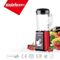 Smoothie Maker/Blender/Juicer for Household Use, 300W, Red and Black