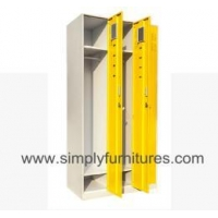 metal wardrobe locker with shelves & ... T5-LK02A-23