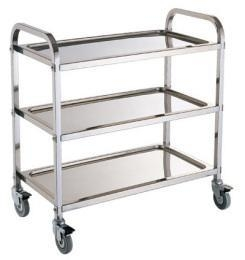 China stainless steel trolley SII-SSR06 on sale