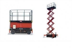 China Warehouse lifting equipment Electric Scissor Table Lift on sale