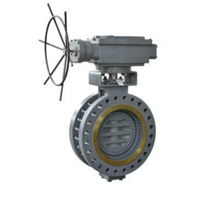 China Butterfly Valve Double flanged type Triple Offset Bi-directional Metal-seated Butterfly Valve on sale