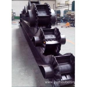 China Sidewall Conveyor Belt Steep Incline Corrugated Cleated Conveyor Belt on sale
