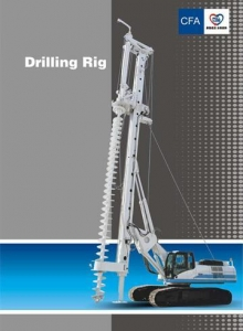 China Piling Machines Features of CFA Rig on sale
