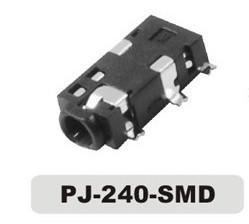 China 2.5mm 5 Pole SMT 7 Pin Audio Jack on sale