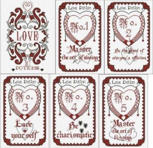 China The Book of Love Potions ~ Part 1 of 6 Designs from Alessandra Adelaide Needleworks on sale