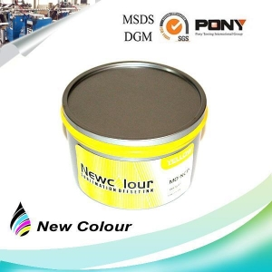 China Fluorescent Sublimation Offset Ink Yellow on sale