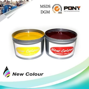 China Fluorescent Sublimation Offset Ink Magenta on sale