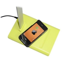 Wireless Charger Made in china multi function desk reading lamp with qi charging function