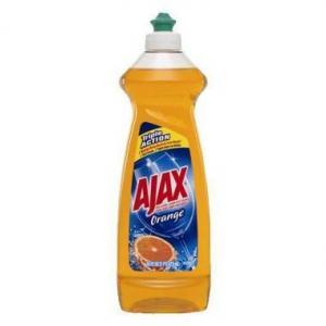 China Ajax Triple Action Orange Dish Liquid , 12.6 oz on sale