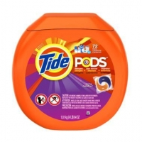 China Tide Pods Detergent - Spring Meadow, 72 ct on sale