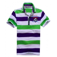 POLO shirt Mens stripe polo shirt 1100001