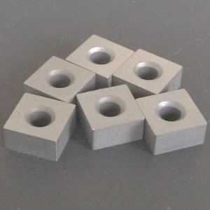 China tungsten carbide tips size 12.7x12.7x6.5mm for chain saw machine on sale
