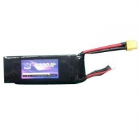 China Battery Pack Manufacturer 22Ah 50C Nano-Tech Lipo Battery Pack with Plugs Ready to Use