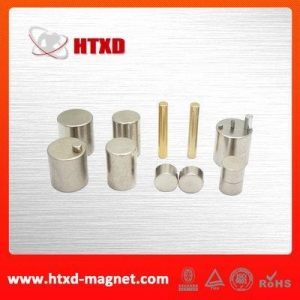 China Rare earth cylindrical ndfeb magnet supplier on sale