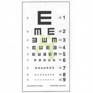 China Vision Test Eye Sight Chart E on sale
