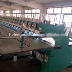 China 9 needles 24 heads high speed embroidery machine for lady dress on sale