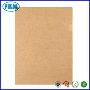 China A3 A4 A5 file presentation kraft paper folder with your own logo on sale