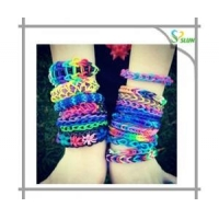 DOD ink cra z loom elastic small loom rubber band bracelets with loom band set