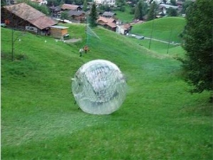 China Zorbing Ball Experiencing Zorbing on sale